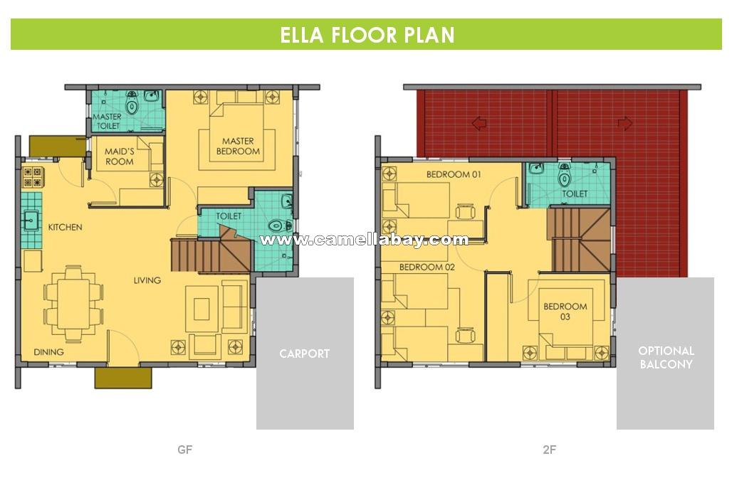 Ella  House for Sale in Bay Laguna