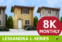 Lessandra Affordable Houses in Camella Bay
