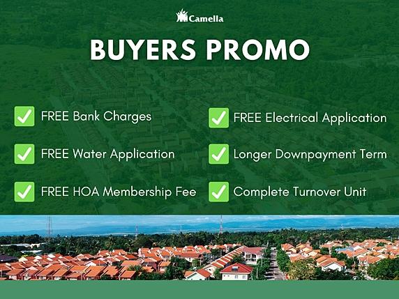 Promo for Camella Bay.