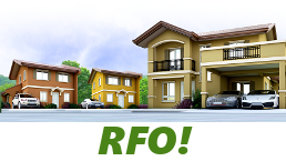 RFO Units for Sale in Camella Bay.