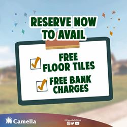 Promo for Camella Bay.